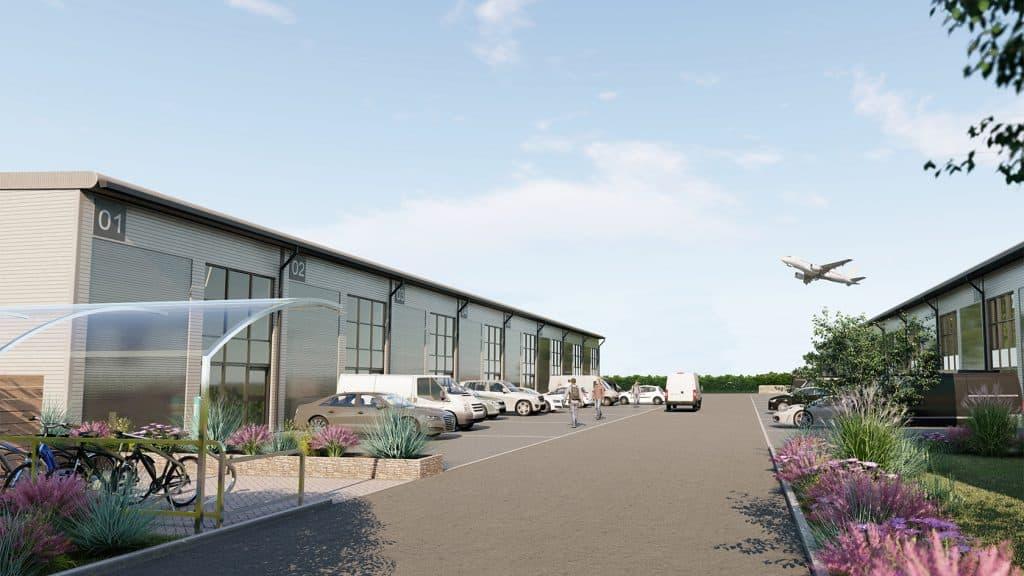 Burrington Estates SkyPark Development, Exeter