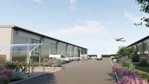 Burrington Estates gets go ahead for SkyPark Development